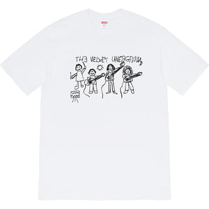 Supreme x The Velvet Underground Drawing Tee - White
