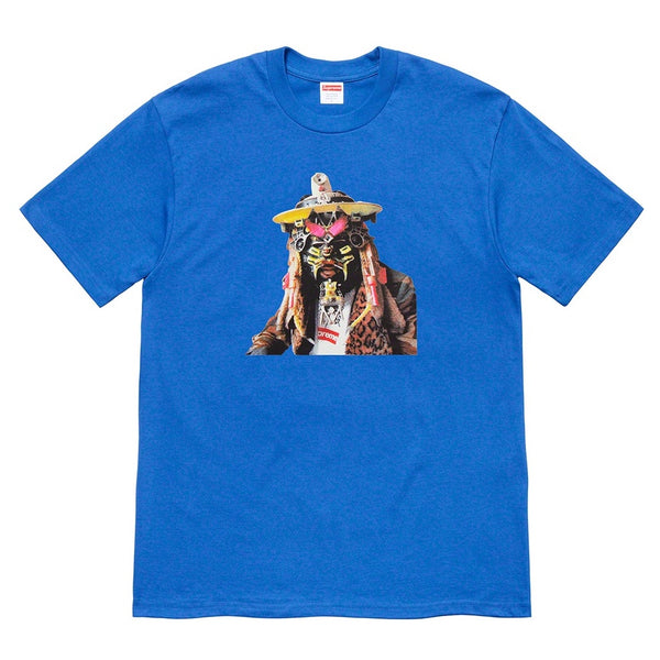 Supreme x Rammellzee - Photo Tee - Royal Blue