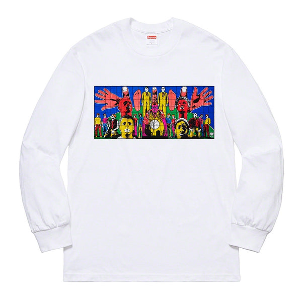 Supreme x Gilbert & George - Death After Life LS Tee - White