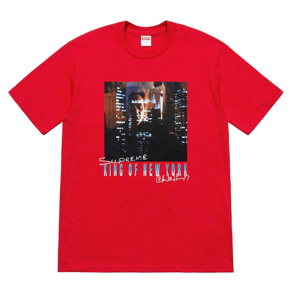 Supreme x Christopher Walken - King Of New York Tee - Red