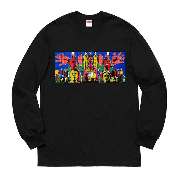 Supreme x Gilbert & George - Death After Life LS Tee - Black