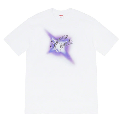 Supreme x Ghostface Killah - Supreme Clientele Tee - White