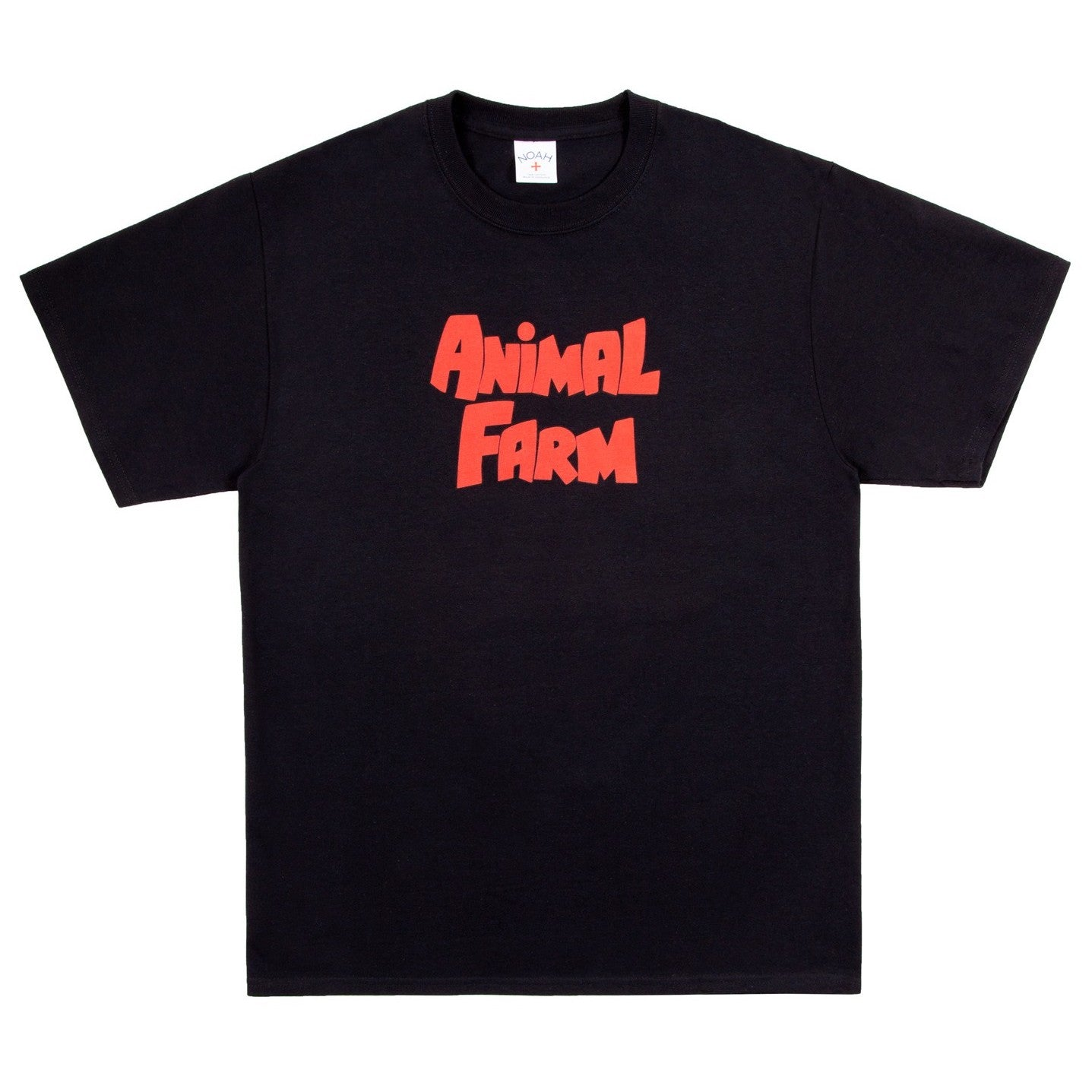 NOAH x Animal Farm - Logo Tee - Black