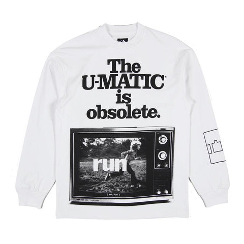 The Trilogy Tapes - U-Matic LS Tee - White