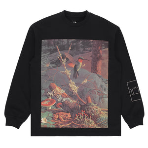 The Trilogy Tapes - Birds LS Tee - Black