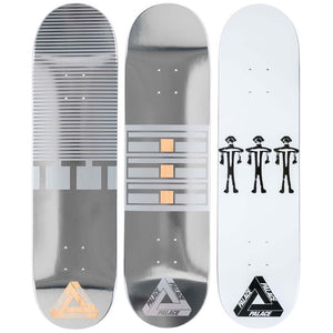 The Trilogy Tapes x Palace - Skate Deck Set