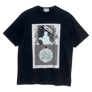 Cav Empt - Silver Activity Tee - Black