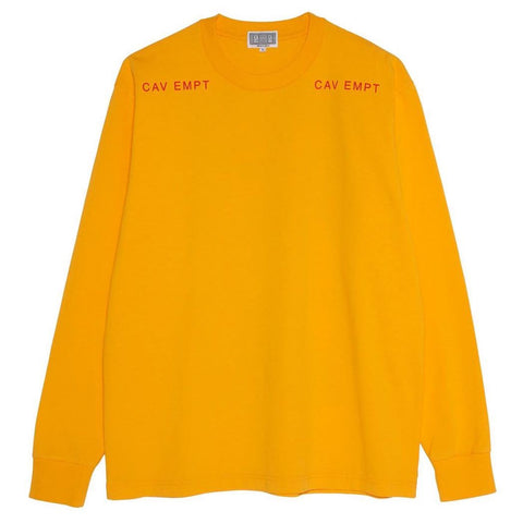 Cav Empt - MD Copies LS Tee - Orange
