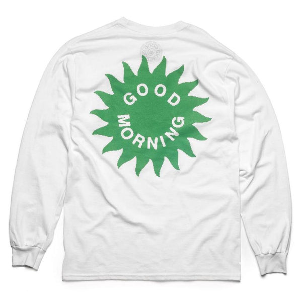 GMT17 - Biscuit - Dance With The Plants II LS Tee - White