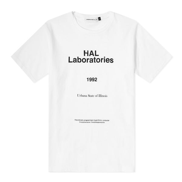 Undercover - Hal Laboratories Tee - White