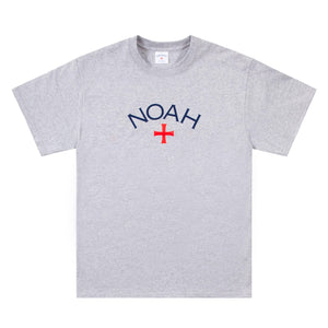 NOAH - Core Logo Tee - Athletic Grey