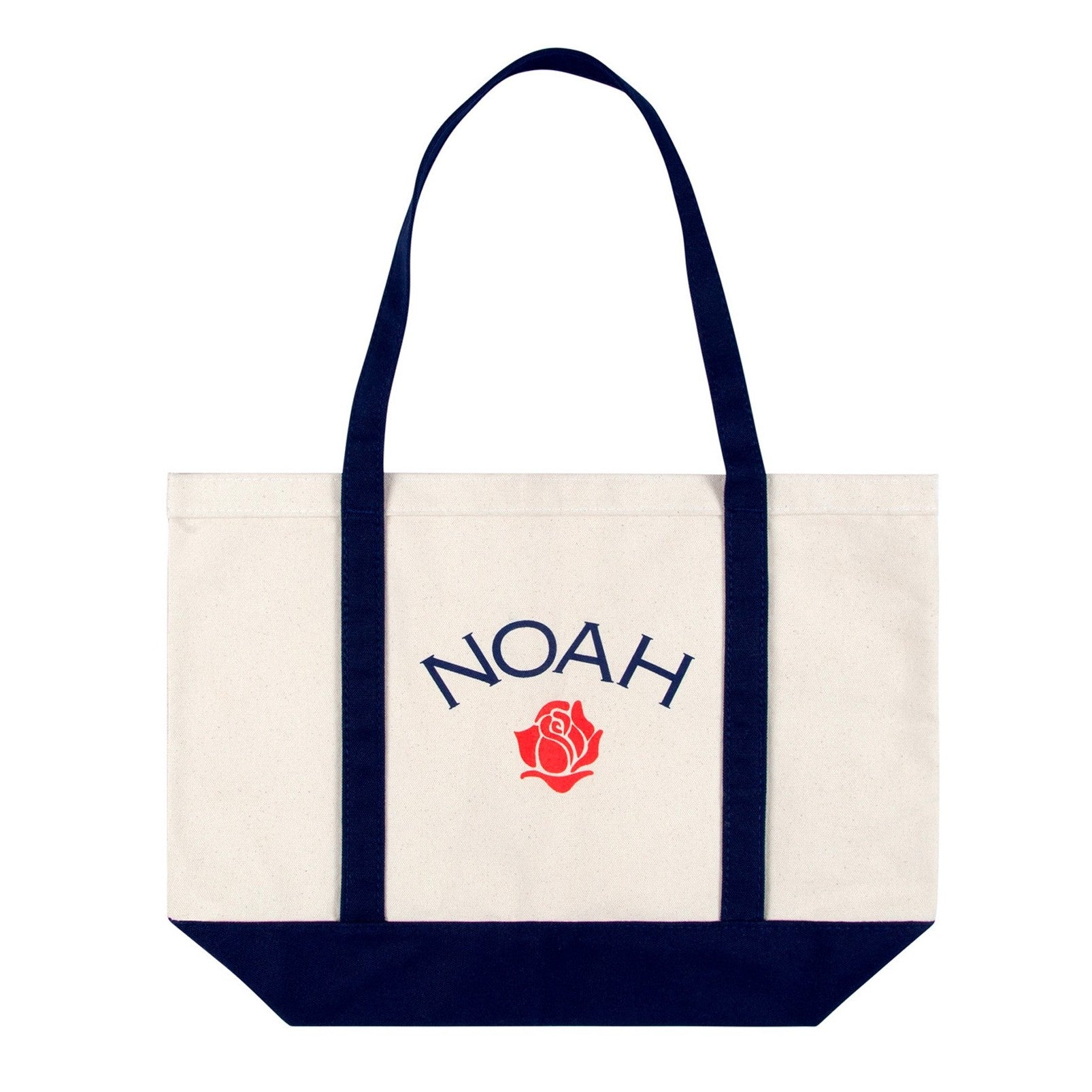 NOAH - Rose Logo Tote Bag - Natural
