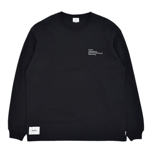 WTAPS - Spec Design 01 LS Tee - Black