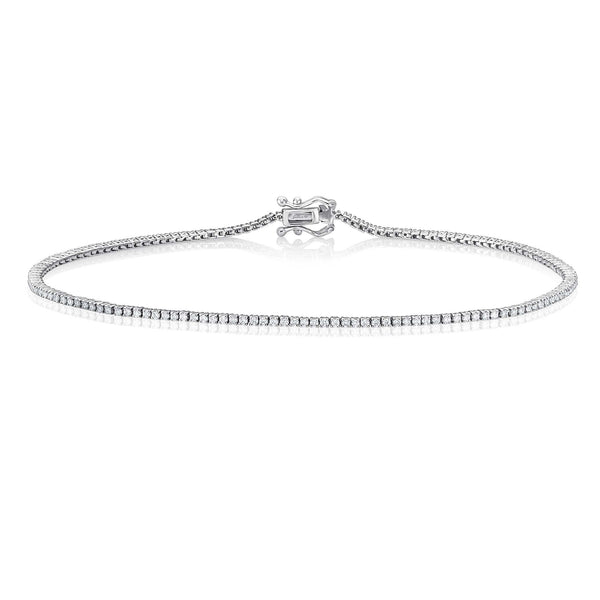 Eternity Bracelet 0,58 Ct. - Weißgold