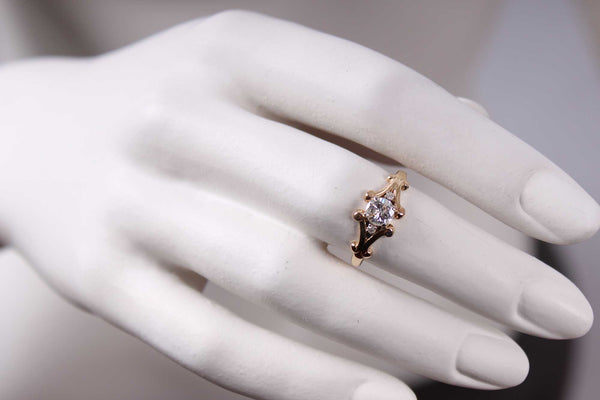 Vintage Diamanten Ring - Gelbgold