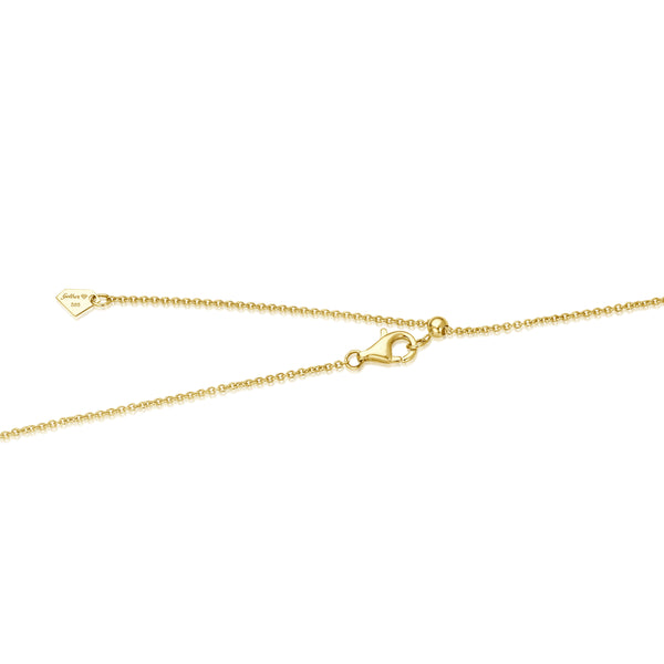 Gold Chain Verstellbar - Gelbgold