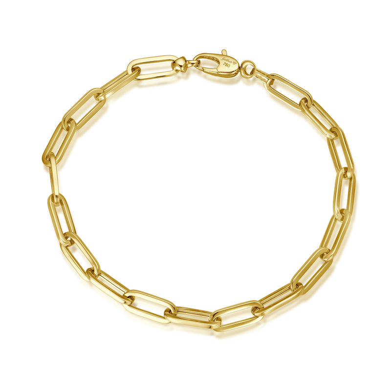 Gold Anchor Armband - 5mm - Gelbgold