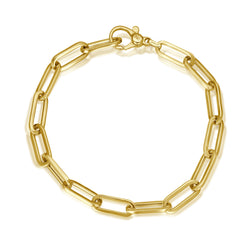Gold Anchor Armband - 6mm - Gelbgold