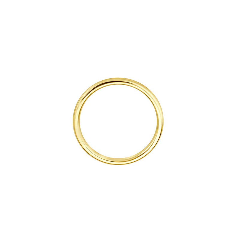 Delicate Pure Gold Ring- Gelbgold