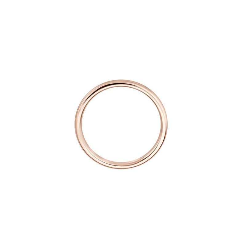 Delicate Pure Gold Ring - Roségold