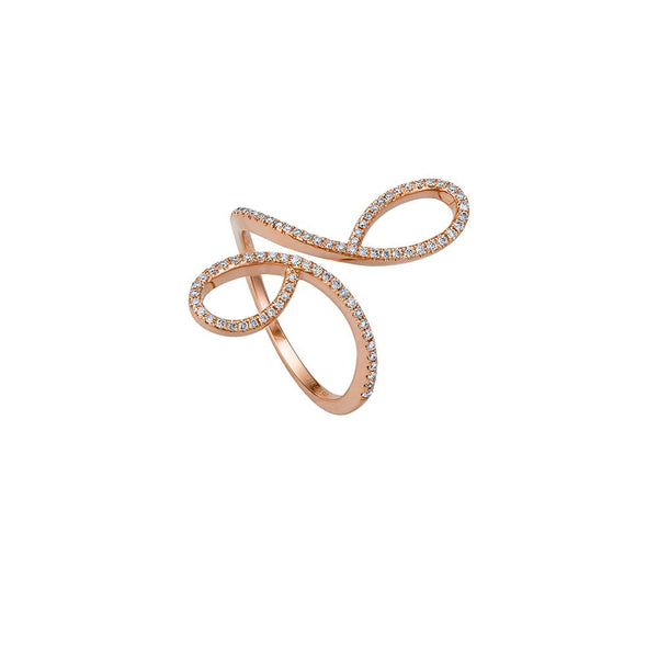 Ribbon Ring - Rosègold