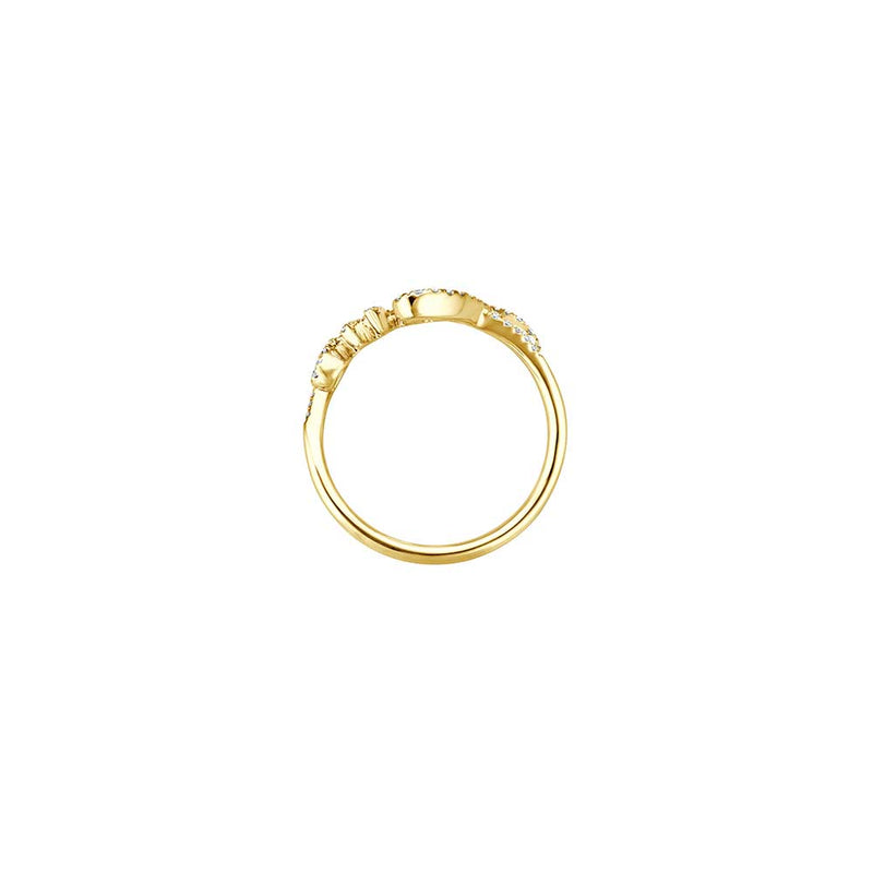 Love Ring - Gelbgold