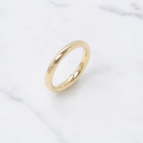 Bold Gold Ring - Gelbgold