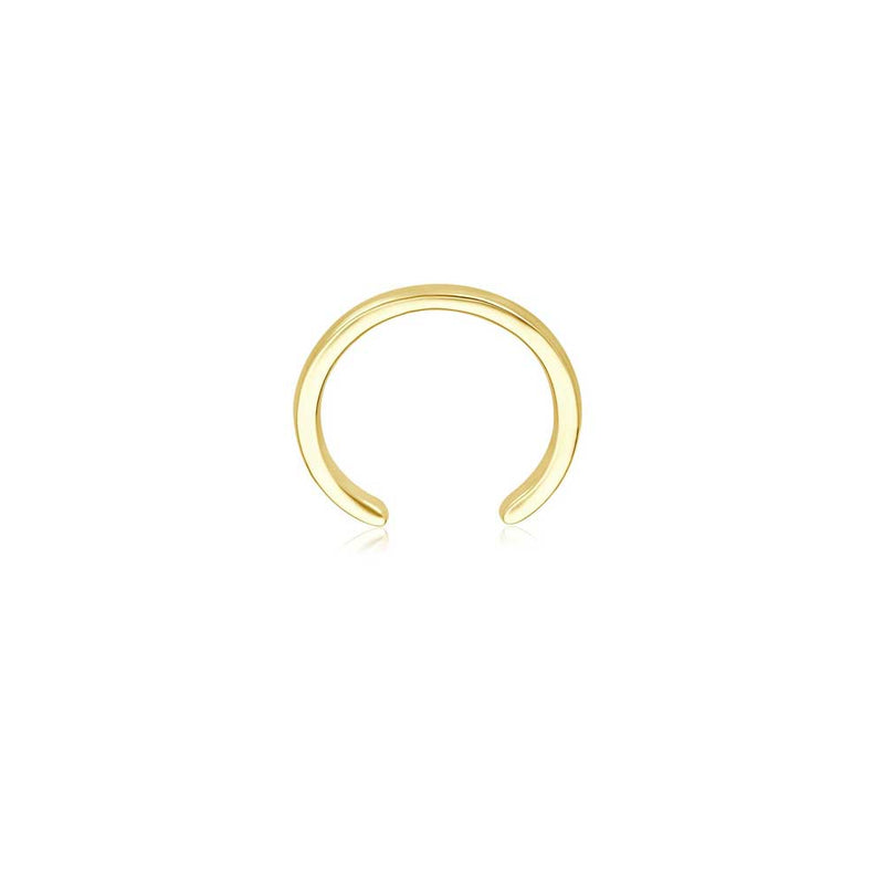 Gold Ear Cuff - Gelbgold