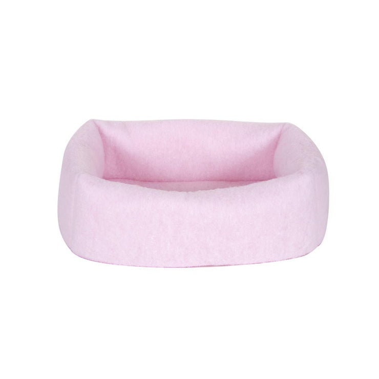 Whiskers 2-in-1 Cat Bed and Cave - Pink