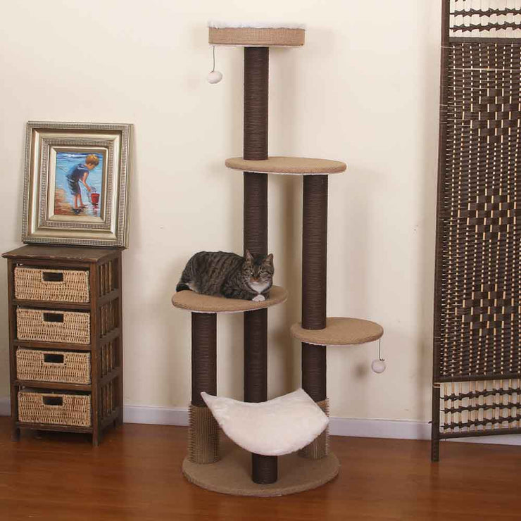 Natural Eco-Friendly Jute Cat Tree
