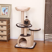 Eco-chic natural cat tree