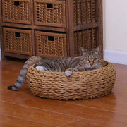 Eco-Chic Woven Rope Cat Bed