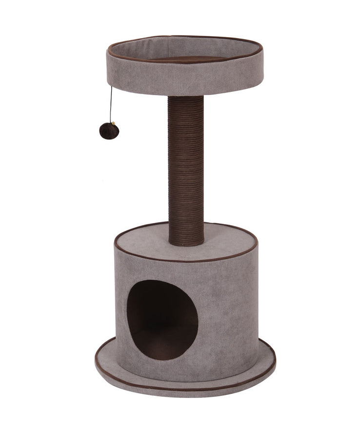Mink Cat Tree with Perch