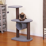 Modern Grey Cat Tree