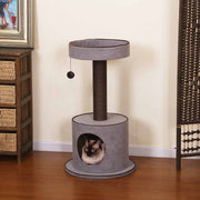 Modern Cat Tree No Carpet