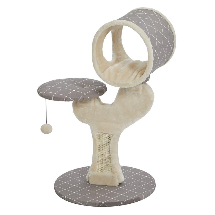 Unique Cat Tree with Sisal Scratching Post