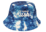 LA Kush Bucket Hat - Blue Tie Dye
