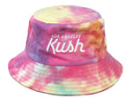 LA Kush Bucket Hat - Multicolor Tie Dye