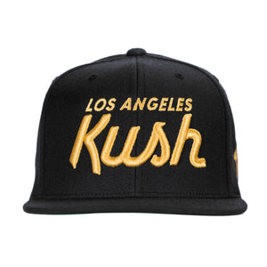 LA Kush OG Snapback - Black/Yellow
