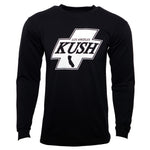 LA Kush Cross Long Sleeve - Black/White