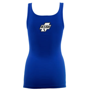 LA Kush OG Women's Tank - Blue/White