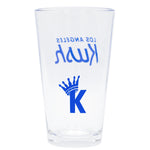 """K"" Krown Cup - Clear/Blue"