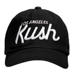 LA Kush OG Dad Hat - Black/White