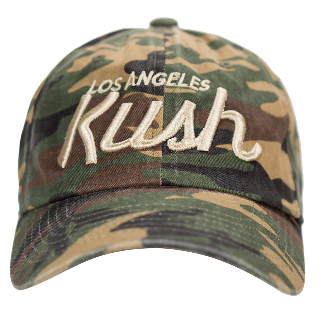 LA Kush OG Dad Hat - Camo/Gold