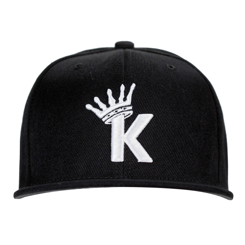 "LA Kush ""K"" Krown Snapback - Black/White"