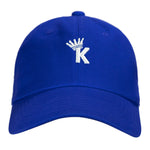 """K"" Krown Dad Hat - Blue/White"