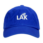 LA Kush Krown Dad Hat - Blue/White