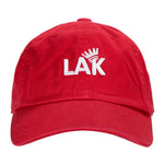 LA Kush Krown Dad Hat - Red/White