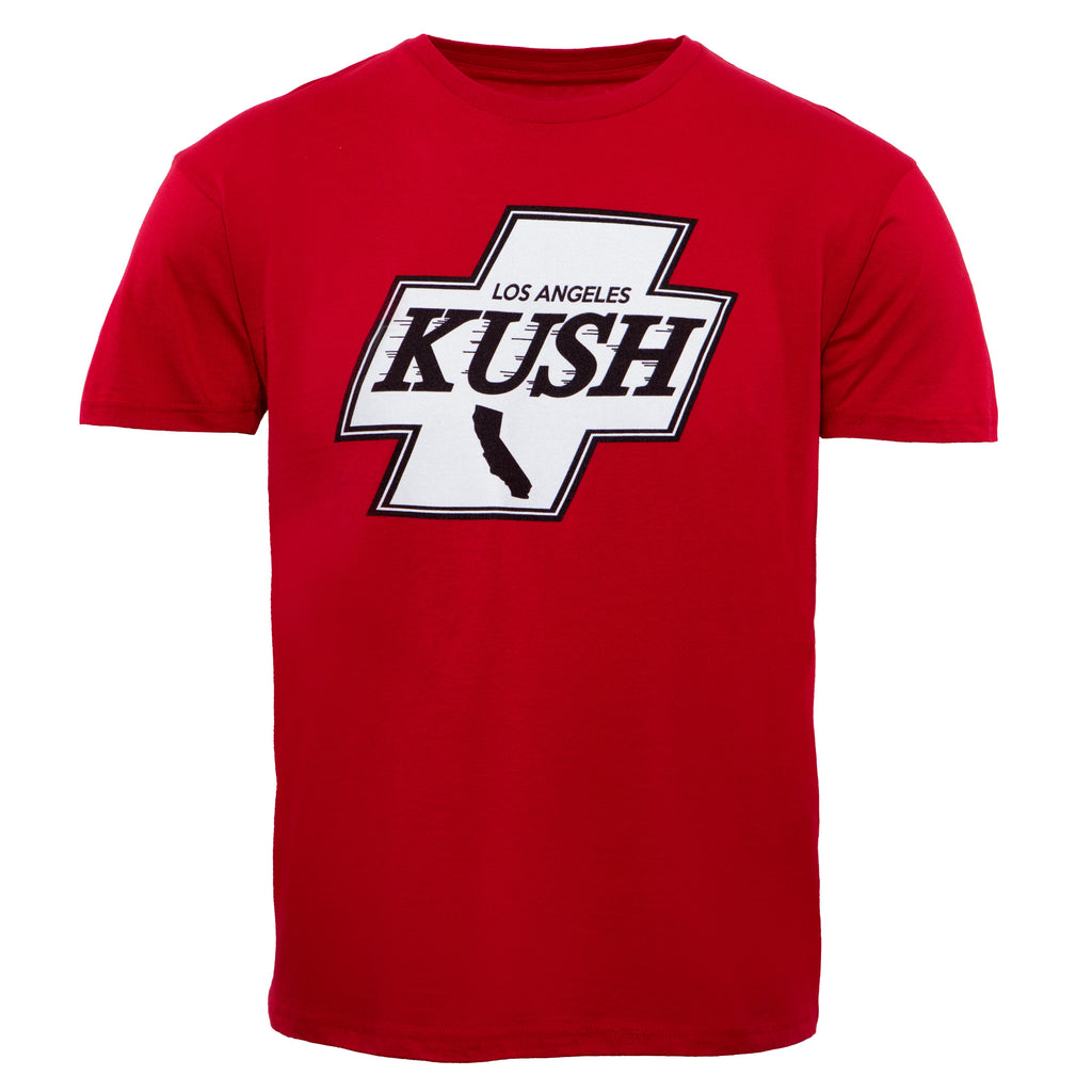 LA Kush Cross Tee - Red/White