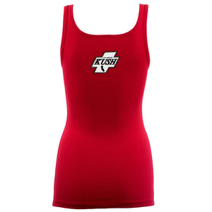 LA Kush OG Women's Tank - Red/White